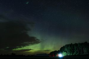 Northern lights on the North 40